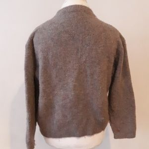 Italian wool Zara pullover with decals